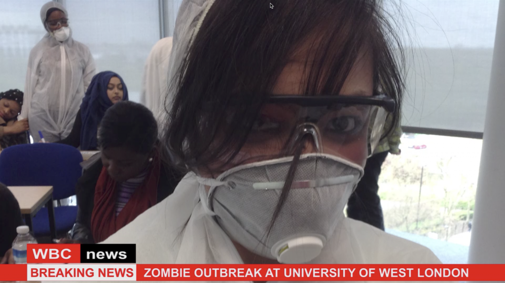 Microbiologist enters scene of outbreak